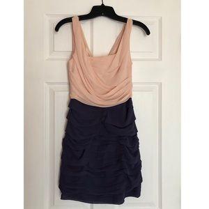 2 tone formal dress